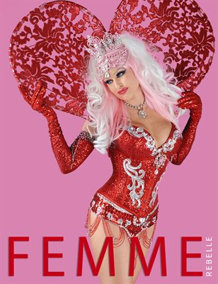 Femme Rebelle Magazine JUNE 2017 - BOOK 2 John Farrar Cover