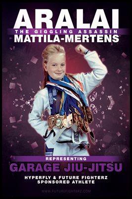 Aralai Mattila-Mertens Purple Giggle's Poster