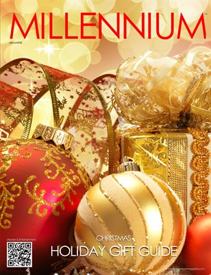 MILLENNIUM MAGAZINE HOLIDAY GIFT GUIDE 2014
