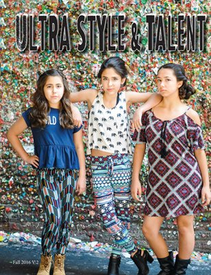 Ultra Style and Talent Magazine Fall Volume 2