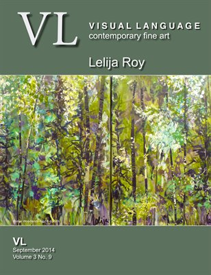 Lelija Roy Top Artist VL Magazine September 2014 Vol 3 No 9