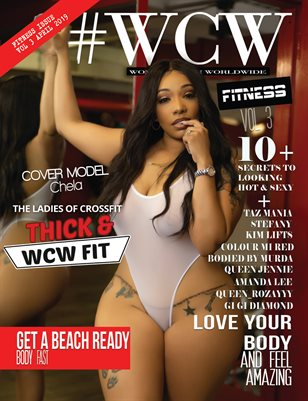 WCW Magazine Fitness Issue Vol 3 Chela