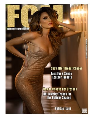 Fashion Couture Magazine ''Holiday issue'' Jocelyn Binder interview  November,December,and January 2020