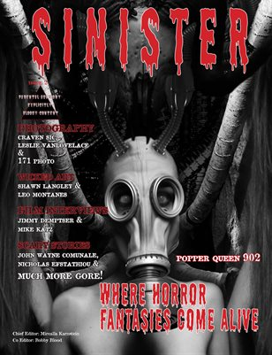 SINISTER Magazine-Issue #2-Suter Cover