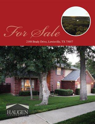 2188 Brady Drive, Lewisville, TX 75057 - Haugen Properties