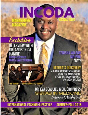 INCODA Management Magazine, Medical Issue Summer-Fall 2018