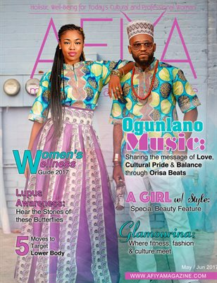 AFIYA Magazine-May/Jun 2017