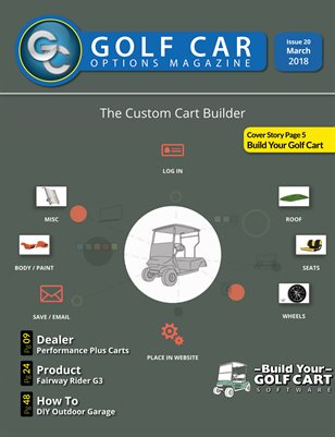 Golf Car Options Magazine - March 2018