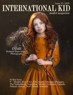 International Kid Model Magazine Issue #55