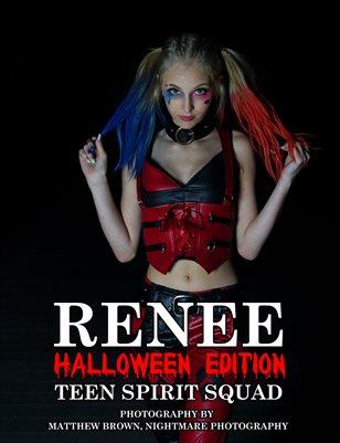 "Renee - ""Harley Quinn"" - Halloween Edition | Teen Spirit Squad"