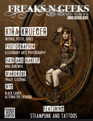 FnGs Issue 4 Steampunk and Tattoos