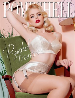 BOMBSHELL Magazine April 2019 BOOK 2 - Rachel Frances Cover