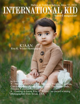 International Kid Model Magazine Issue 57, Babies & Toddlers