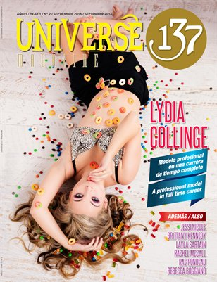 UNIVERSE 137 MAGAZINE SEPT 2016 EDITION