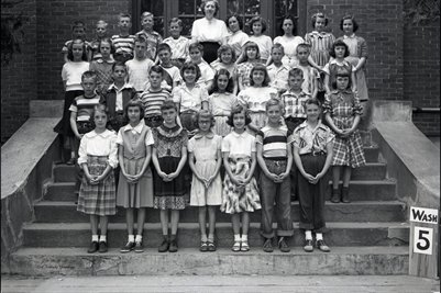 May 10 1951 5th Grade, Washington School, Graves County, Kentucky