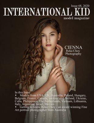 International Kid Models Magazine Issue #68
