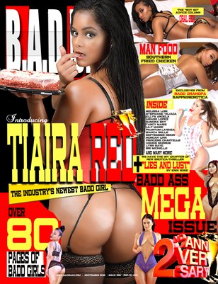 2 Year Anniversary Issue (Tiaira Red Cover)