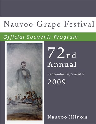 Nauvoo Grape Festival Program 2009