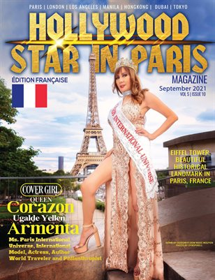 HOLLYWOOD STAR IN PARIS MAGAZINE SEPTEMBER 2021