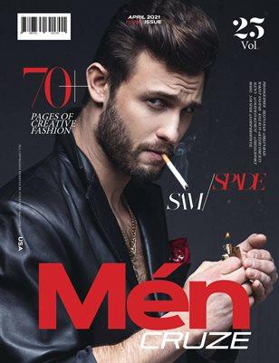 APRIL 2021 Issue (Vol: 25) | MEN CRUZE Magazine