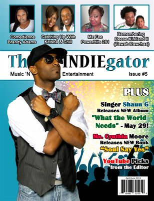 The INDIEgator (April/June 2014)