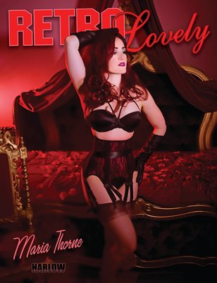 Retro Lovely No.34 - Maria Thorne Cover