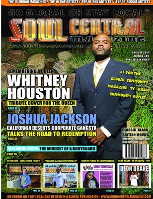 Soul Central Magazine Edition #89 - JOSHUA JACKSON #CEO