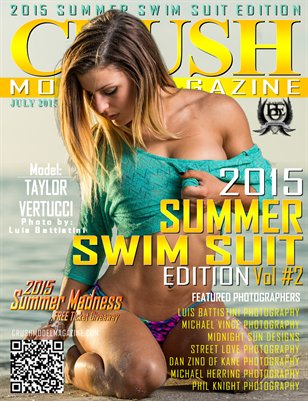 CRUSH MODEL MAGAZINE SUMMER SWIM SUIT EDITION VOL 2