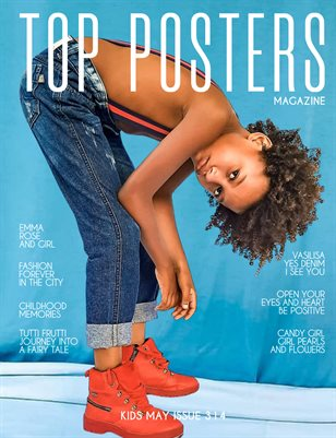 TOP POSTERS MAGAZINE- KIDS MAY (Vol 314)