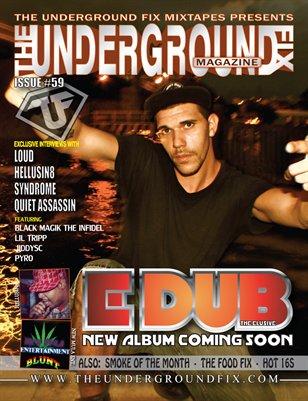 The Underground Fix Magazine Issue #59