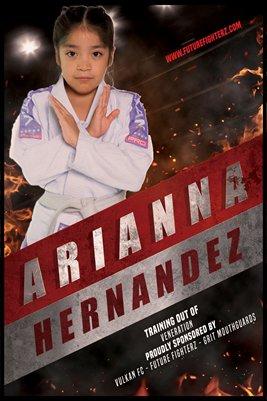 Arianna Hernandez Red Strip - Poster