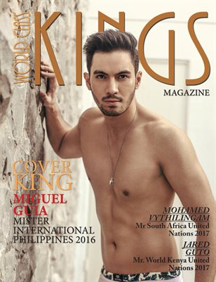 World Class Kings Magazine with Miguel Guia