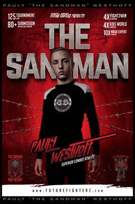 Pauly Westhoff Superior Combat Athlete Poster