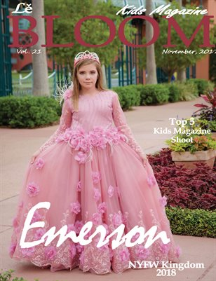 Le Bloom Kids Magazine Emerson