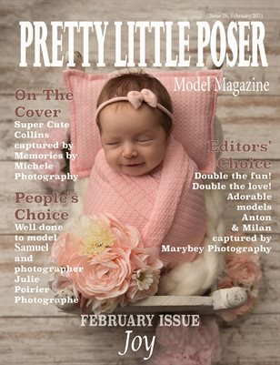 Pretty Little Poser Model Magazine - Issue 26 - Joy - February 2021