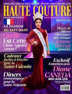 HAUTE COUTURE INTERNATIONAL MAGAZINE Diane Caneda Fév. 2021