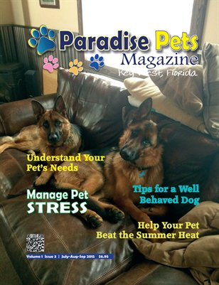 Paradise Pets Magazine Key West  Vol. 1 Issue 3