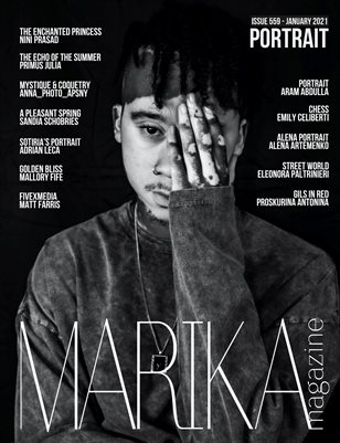 MARIKA MAGAZINE PORTRAIT (ISSUE 559 - January)