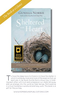 Sheltered in the Heart PBK | Book at a Glance