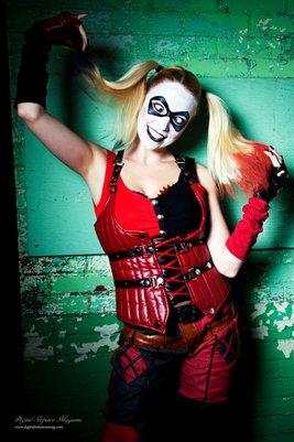 Harley Quinn / Lady Loki Poster