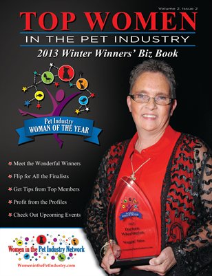 Top Women in the Pet Industry Winter Winners' Biz Book