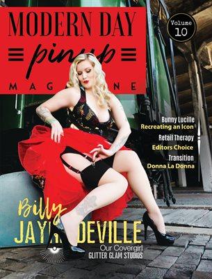 Modern Day Pin Up Magazine Volume 10