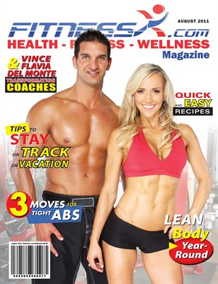 FitnessX.com Magazine for August 2011