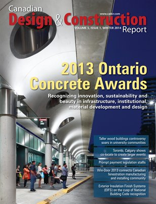 Canadian Design and Construction Report (Winter, 2014)