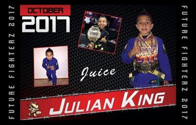 Julian King 8x5 Cal Design