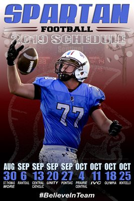 SJO Football Schedule #2