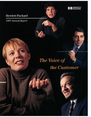 HP Annual Report 1997