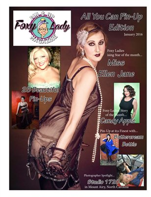 January All You Can Pin-Up Issue 2016