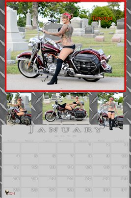 Miss January poster