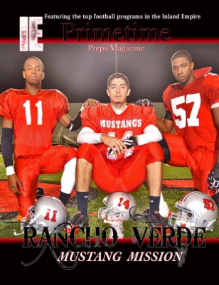 Inland Empire Prime Time Preps Magazine Rancho Verde Football Edition April 2012